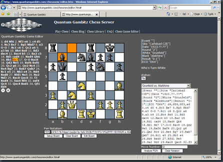Chess Game Editor