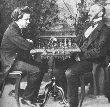 paul morphy, Intermediate moves
