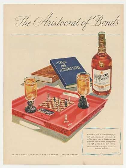 Whiskey advertisement 1946