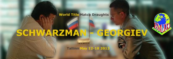 World Title Match Draughts (RD 5)