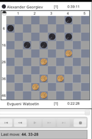 The International Draughts World Championship  [Ufa]